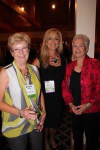 Founders Bonnie Smith, Polly Mervine and Debra Quinton