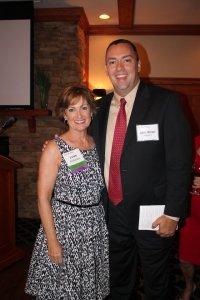 Lynn Kokjohn and Senator Brian Pettyjohn