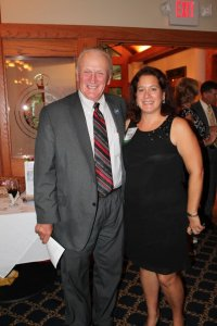 Rep. Dave Wilson with FFW Chair Michele Whetzel