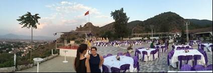 Wedding venue in Turkey